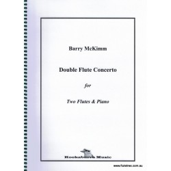 McKimm B. Double Flute Concerto for two flutes & piano