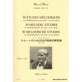 Moyse 50 Melodic Studies By Demersseman Bk 1 of 2 (Leduc)