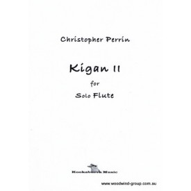 Perrin, Christopher - Kigan II  for solo flute