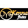 Chris McKenna - 95Ag/5Pt Tube with 925Ag Lip plate, 14K Gold riser and 14K gold Adler wings