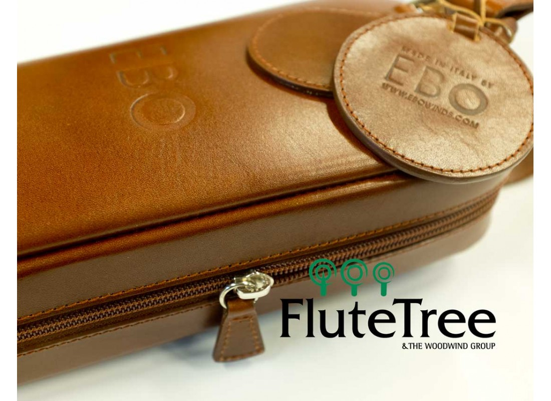 EBO Leather Case Cover For Flute