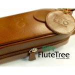 EBO Italian Leather Flute Case cover