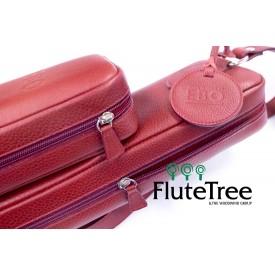 EBO Italian Leather Flute & Piccolo Case cover