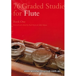 76 Graded Studies Book 1  (Harris & Adams) Faber