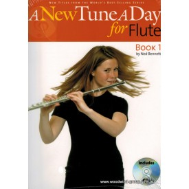 A New Tune A Day For Flute Book One (Cd)