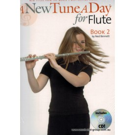 A New Tune A Day For Flute Book Two (Cd)