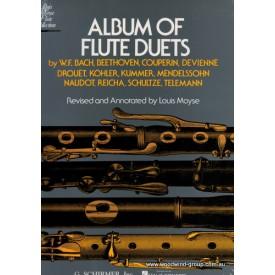 Album Of Flute Duets, Ed Moyse (Schirmer)