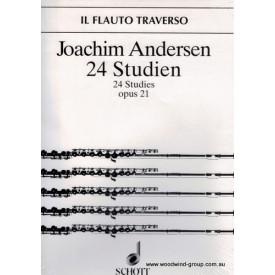 Andersen J 24 Studies Op 21 (Schott)