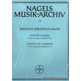 Bach J.S. Sonata In G Minor (Barenreiter) BWV1020 Fl/Pno