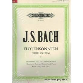 Bach J.S. Sonatas Book One 1-3 (Peters)