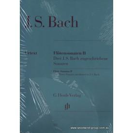 Bach J.S. Sonatas Bk 2 (Henle) (C maj, G min, E flat maj)