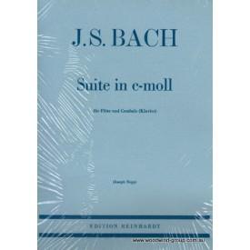 Bach J.S. Suite In C Minor Fl/Pno Arr J. Bopp (Reinhardt)