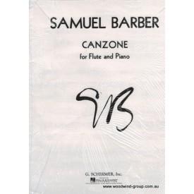 Barber, S. Canzone (Schirmer)