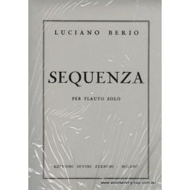 Berio L. Sequenza (Zerboni) Fl/Pno