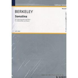 Berkeley L. Sonatina For Flute (Schott) Fl/Pno