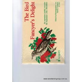 Bird Fancyer's Delight For Sopranino Recorder (Schott) Ed S Godman