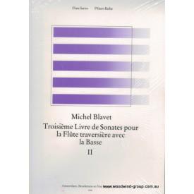 Blavet M Six Sonatas Op 3 Bk 2 (4-6) Fl/Pno Broekmans