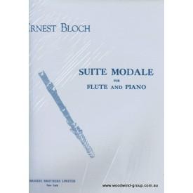 Bloch E. Suite Modale (Broude) Fl/Pno