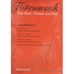Boccherini L. Concerto In D (Barenreiter) Fl/Pno