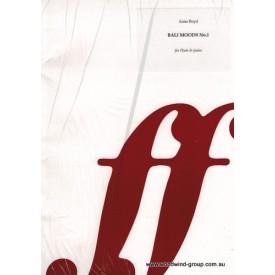 Boyd, A. Bali Moods No. 1  Fl/Pno (Faber)
