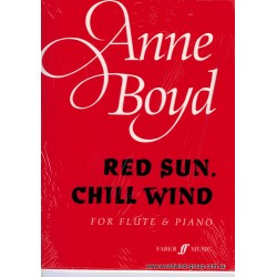 Boyd, A. Red Sun Chill Wind Fl/Pno (Faber)