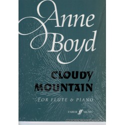Boyd, A. Cloudy Mountain Fl/Pno (Faber)
