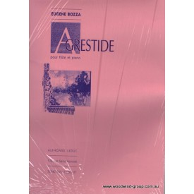 Bozza  E. Agrestide Op 44 (Fl/Pno)