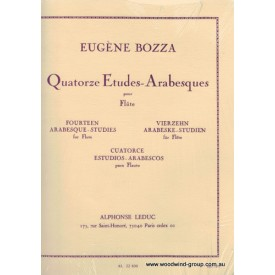 Bozza E.  Fourteen Arabesque-Studies For Flute (Leduc)