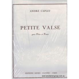 Caplet. Petite Valse. Fl/Pno (Lemoine)