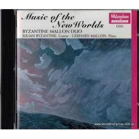 Cd  Music New Worlds  Mallon/Byzantine