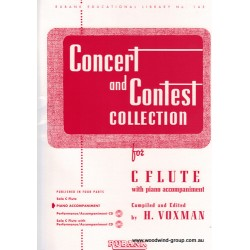 Concert & Contest Collection. Arr Voxman (Rubank) Piano Accompaniment Only