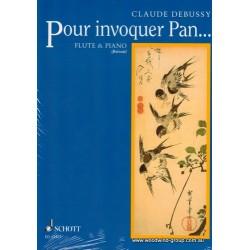 Debussy  C.  Pour Invoquer Pan  (Schott)