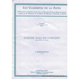 Demerssemann J. Sixieme Solo De Concert (Leduc)