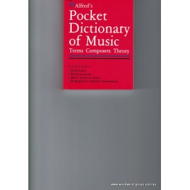 Feldstein. Pocket Dictionary Of Music. (Alfred)