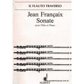 Francaix J. Sonate (Schott)