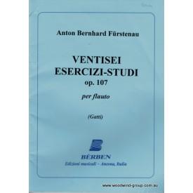 Furstenau 26 Exercises Op 107 (Berben)