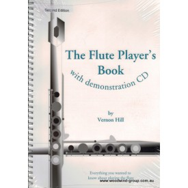 Hill Vernon  The Flute Players Book With C/D (Fluteworks)