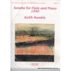 Humble,  K. Sonata For Flute & Piano