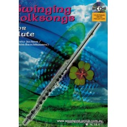 Juchem Swinging Folk Songs For Flute (Cd) Schott