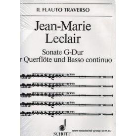 Leclair, J.M. Sonata In G Op 9 No 7 (Schott)