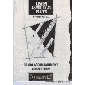 Learn As You Play Flute Piano Accompaniment