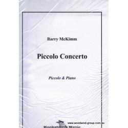 Mckimm B. Piccolo Concerto Piccolo & Pno (Kookaburra Music)