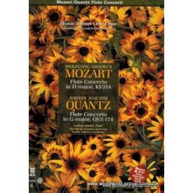 MMO - Mozart Concerto In D/Quantz Concerto In G (CD)