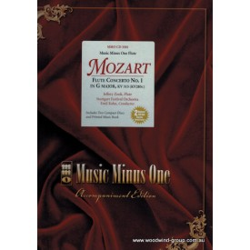 MMO - Mozart Flute Concerto In G Major (CD)