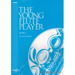 North, Karen.  The Young Flute Player  Vol.1