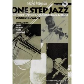 Pellegrino, M. One Step Jazz Improvisation (With CD In French) Lemoine