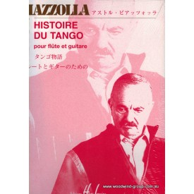 Piazzolla A. History Of The Tango Fl/Vln & Guitar (Lemoine)