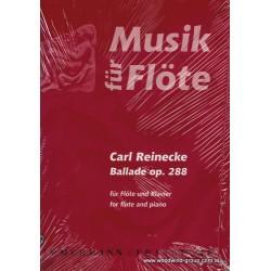 Reinecke, C. Ballade Op 288 Fl/Pno (Zimmermann)