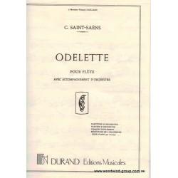 Saint-Saens C.  Odelette For Flute/Piano