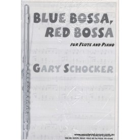 Schocker Blue Bossa, Red Bossa For Fl/Pno (Presser)